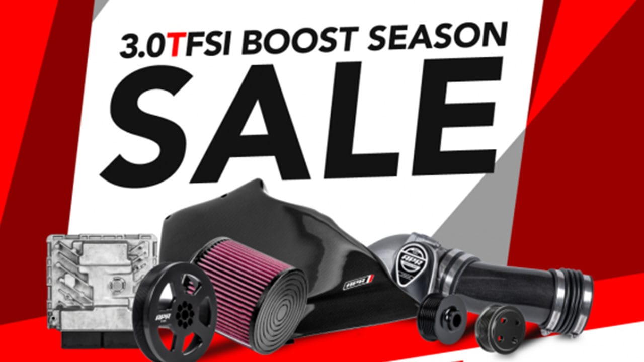 APR 3.0 TFSi Boost Season Sale