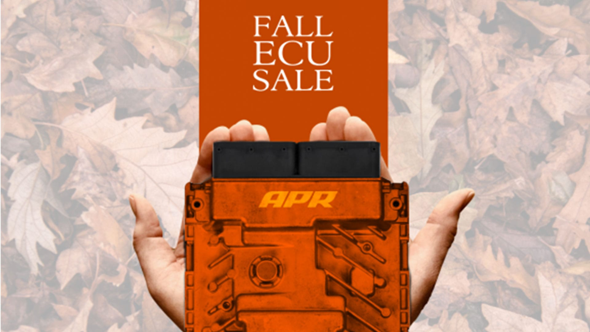 APR ECU Fall Sale