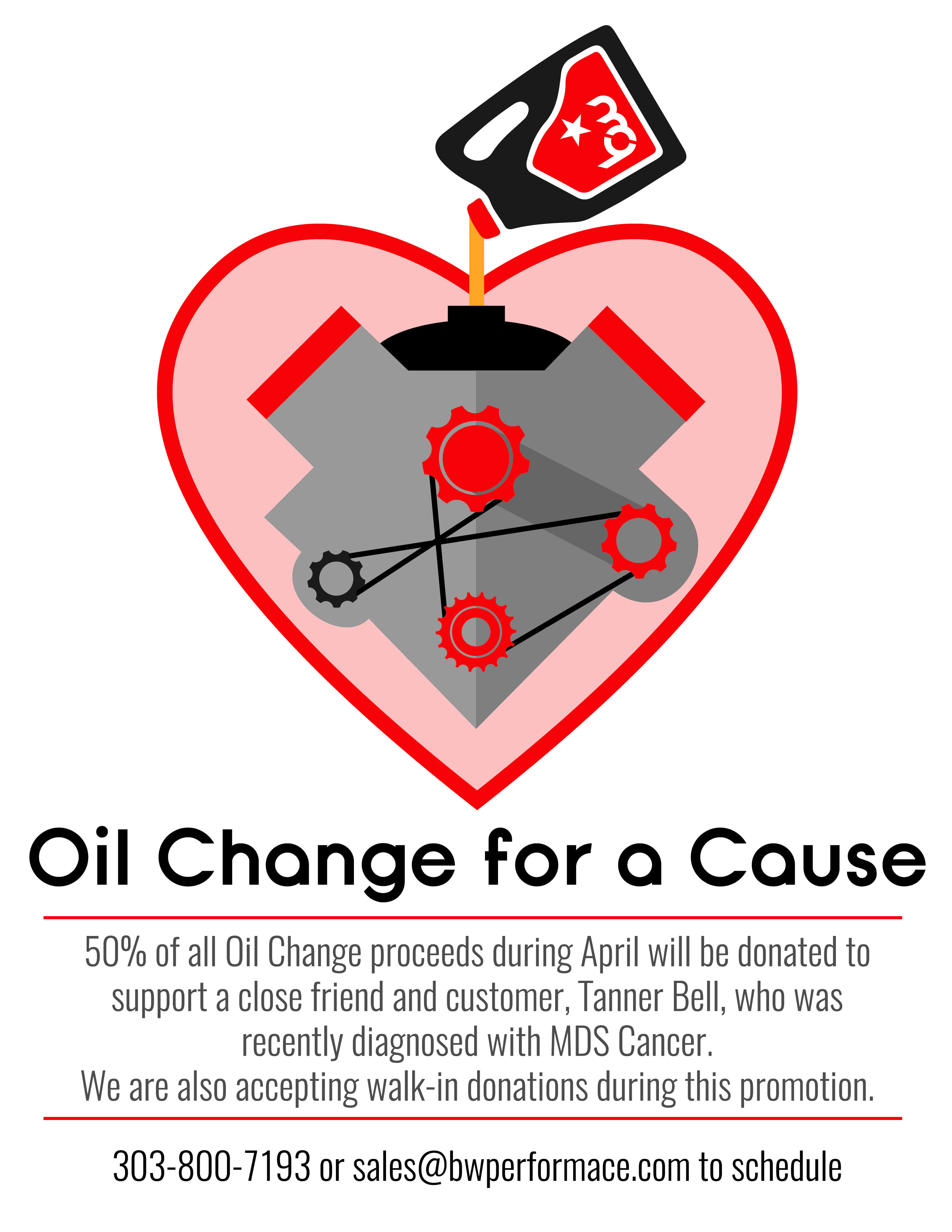 April's Oil Change for a Cause