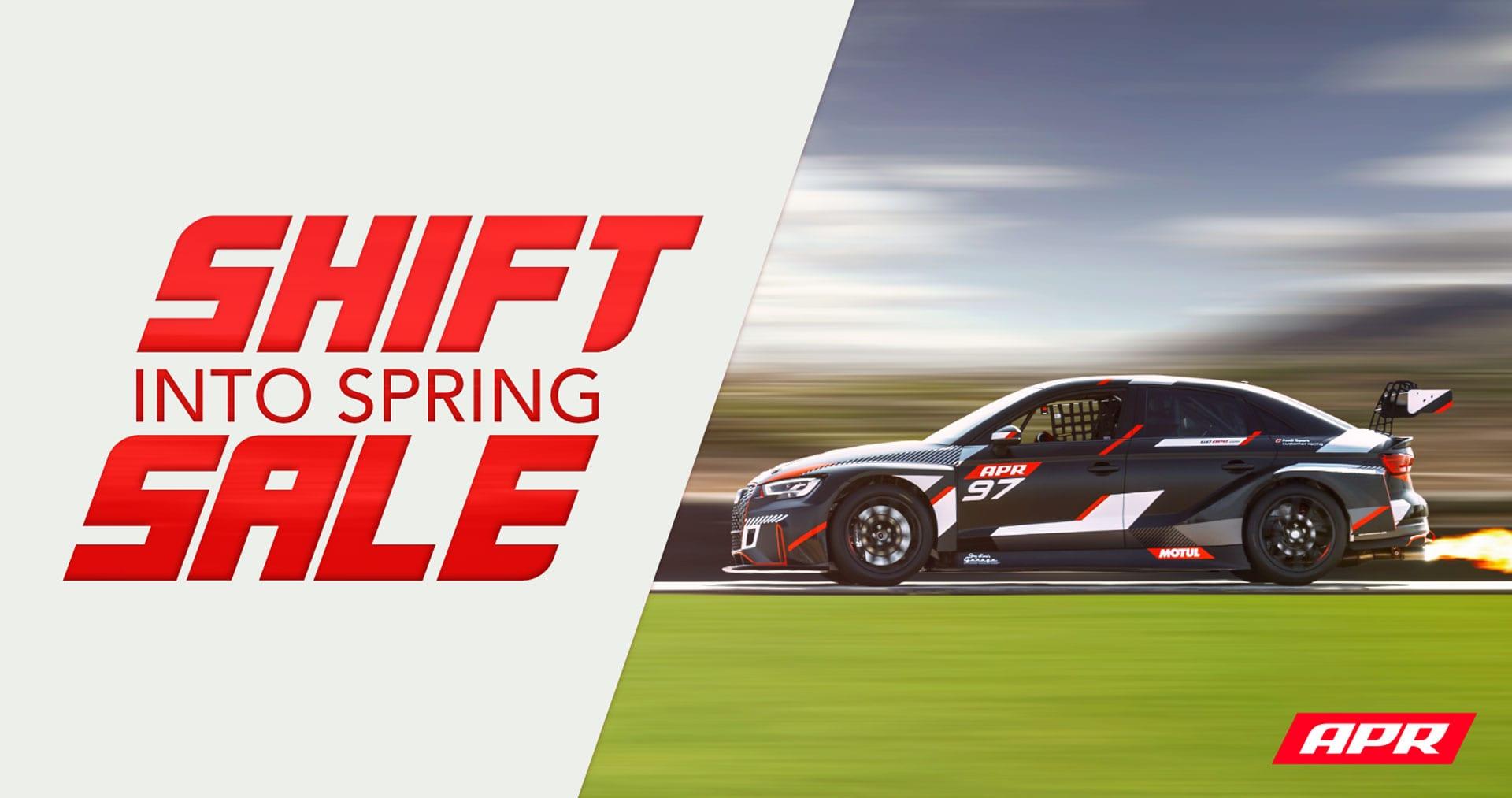 APR Shift Into Spring Sale